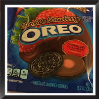Oreo Sandwich Cookies with Strawberry Flavor, chocolate, chocolate cookies, strawberry, strawberry cookies, cookies uploaded by Sherry L.
