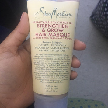 SheaMoisture Jamaican Black Castor Oil Strengthen, Grow & Restore Treatment Masque w/ Shea Butter, Peppermint & Keratin uploaded by Michelle M.