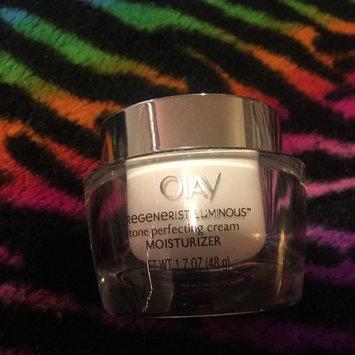 Photo of Olay Regenerist Luminous Skin Tone Perfecting Cream uploaded by Rachael J.