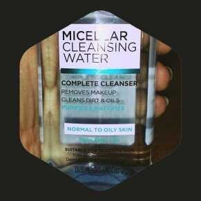 L'Oreal Paris Micellar Cleansing Water for Normal to Oily Skin 13.5 fl. oz. Bottle uploaded by Zannah L.