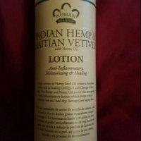 Nubian Heritage - Lotion Hemp and Haitian Vetiver - 13 oz. uploaded by V L.