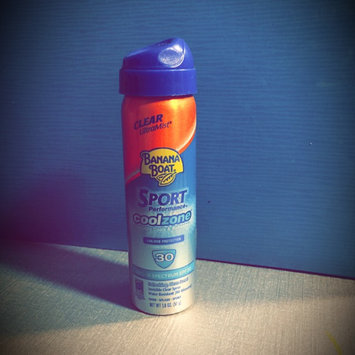 Banana Boat Sport CoolZone Continuos Spray SPF 30 uploaded by Kristen V.