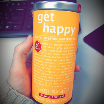 Photo of The Republic of Tea, Get Happy Tea, 36-Count uploaded by Sarah K.