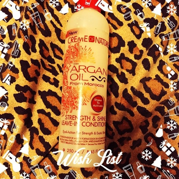 Creme Of Nature Strength & Shine Leave-in Conditioner uploaded by Tanesha F.