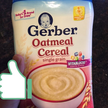 Photo of Gerber® Oatmeal Cereal 8 oz. Canister uploaded by Carolyn S.
