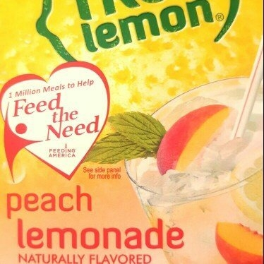 True Citrus True Lemon Water Enhancer Mix Peach Lemonade 10 Packets uploaded by Jennifer R.