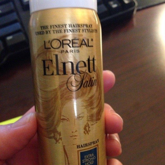 L'Oréal Elnett Satin Hairspray uploaded by Sarah H.