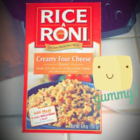 Rice-A-Roni Creamy Four Cheese uploaded by Stevi L.