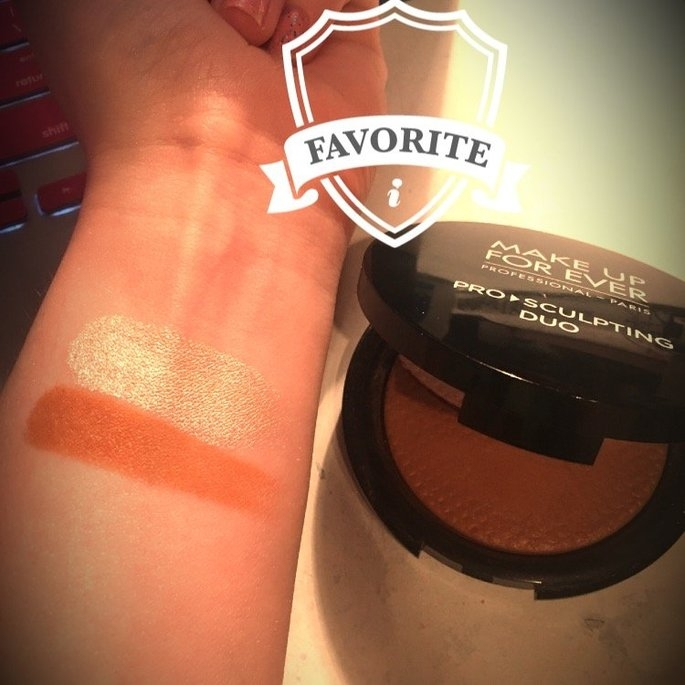 MAKE UP FOR EVER Pro Sculpting Duo 2 Golden 0.28 oz uploaded by Anika B.