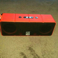 Altec Lansing Jacket Bluetooth Wireless Stereo Speaker - Red/Black uploaded by jennifer H.