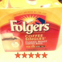 Folgers Classic Roast Coffee Singles uploaded by amber m.