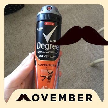 Photo of Degree Men Dry Spray Antiperspirant, Adventure, 3.8 oz uploaded by Kelly G.