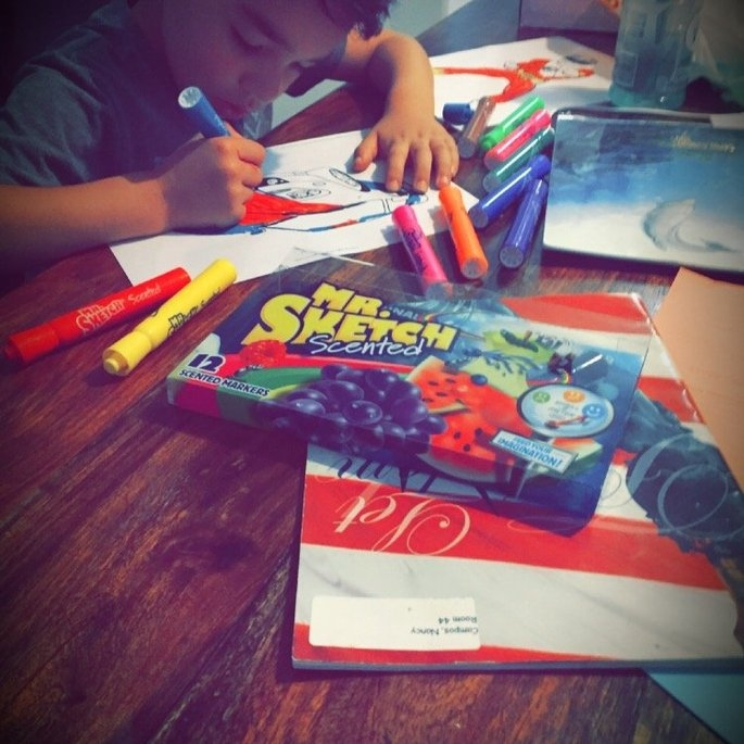 Mr. Sketch Scented Washable Markers uploaded by Nancy C.