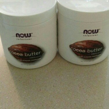 Photo of NOW Solutions Cocoa Butter 100% Pure Multi-Purpose Moisturzer uploaded by december t.