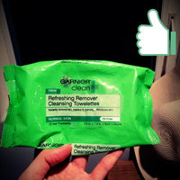 Garnier Nutritioniste The Refreshing Remover Cleansing Towelettes -- Oil Free uploaded by Brandi Q.
