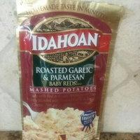 Idahoan Roasted Garlic & Parmesan Baby Reds Flavored Mashed Potatoes uploaded by Meriah W.