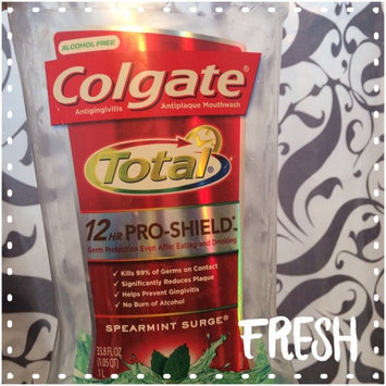 Photo of Colgate Total Advanced Pro-Shield Spearmint Surge Mouthwash uploaded by Dominique S.
