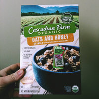 Cascadian Farm Organic Granola Cereal Oats and Honey uploaded by Billie S.