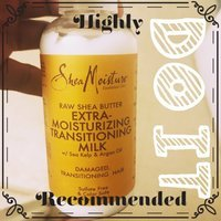 SheaMoisture Raw Shea Butter Extra-Moisture Transitioning Milk uploaded by S S.