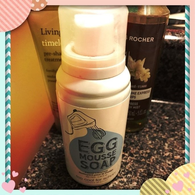 Too Cool For School Egg Mousse Soap Facial Cleanser 2.36 oz uploaded by Tricia C.