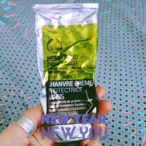 Photo of THE BODY SHOP® Hemp Hand Protector uploaded by Amber S.