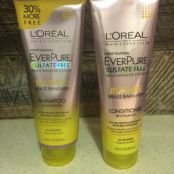 Photo of L'Oréal® Paris Hair Expertise™ EverPure Sulfate-Free Blonde Brass Banisher™ Shampoo 11.05 fl. oz. Tube uploaded by Sammy M.