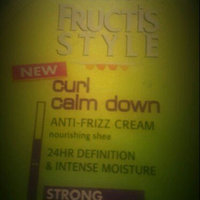 Garnier Fructis Style Curl Calm Down Anti-Frizz Cream uploaded by Daisy C.