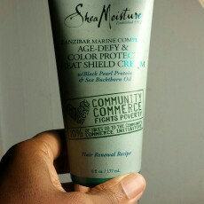 Photo of SheaMoisture Zanzibar Marine Complex Age-Defy & Color Protect Heat Shield Cream uploaded by Irene G.