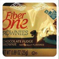 Fiber One 90 Calorie Chocolate Fudge Brownies uploaded by margarita m.