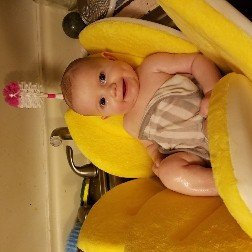 Photo of Upanaway Blooming Bath Plush Baby Bath - Canary Yellow uploaded by Amanda L.
