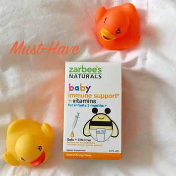 Photo of Zarbee's Naturals Baby Immune Support + Vitamins Orange Drops - 2.0 oz uploaded by Latasha P.
