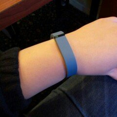 Photo of Fitbit Flex Wireless Activity + Sleep Tracker, Slate, 1 ea uploaded by Sarah C.