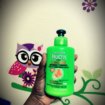 Garnier Fructis Style Curl Calm Down Anti-Frizz Cream uploaded by Elaine A.