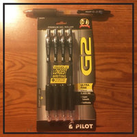 Pilot G2 Retractable Gel Pen, Black, .38mm Ultra-Fine Point, 4 Pack uploaded by Ashleigh D.