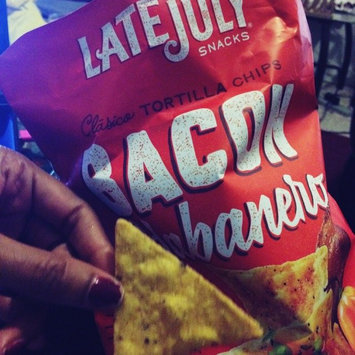 Photo of Late July® Snacks Clasico Tortilla Chips Bacon Habanero uploaded by Shishandra D.