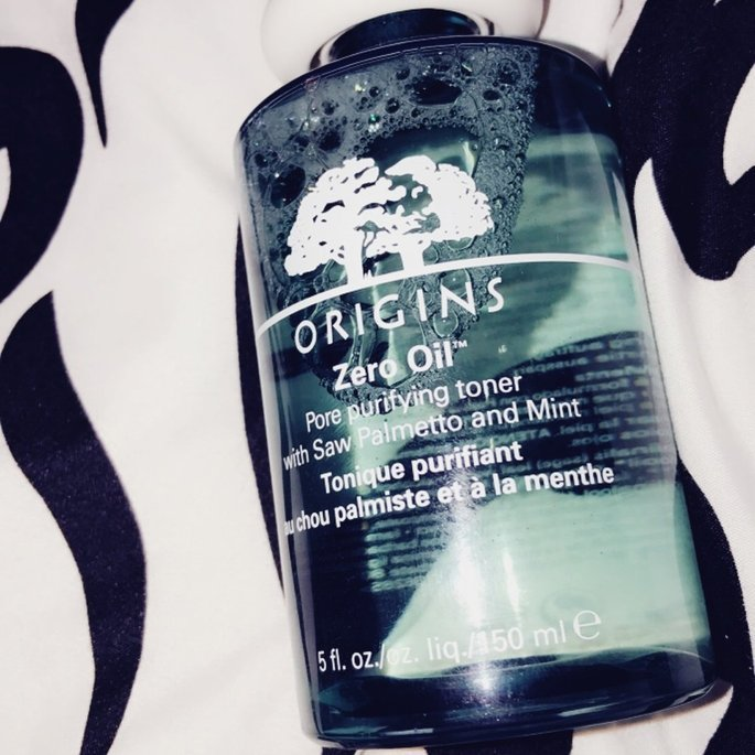 Origins Zero Oil Pore Purifying Toner with Saw Palmetto & Mint uploaded by Marci R.