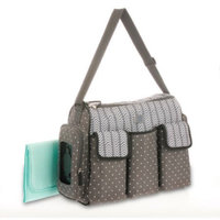 Child of Mine by Carter's Child of Mine Stripe Monkey Tote Diaper Bag uploaded by Stephanie F.