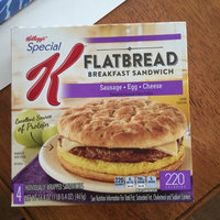 Special K® Kellogg's Sausage, Egg & Cheese Flatbread Breakfast Sandwich uploaded by Suzanne R.