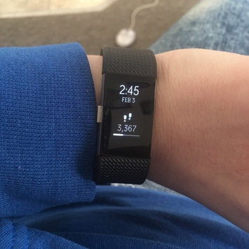 Fitbit Charge 2 Heart Rate and Fitness Wristband uploaded by Brooke K.