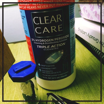 Clear Care Cleaning & Disinfecting Solution uploaded by Mattie O.