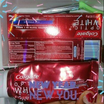 Colgate Optic White Anticavity Fluoride Toothpaste Cool Mint uploaded by Jherrica S.