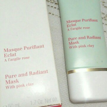 Photo of Clarins Truly Matte Pure and Radiant Mask uploaded by Ines G.