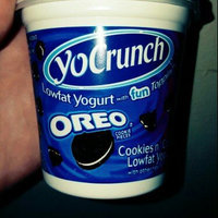 YoCrunch Cookies n' Cream Lowfat Yogurt with Oreo Cookie Pieces uploaded by Faith D.