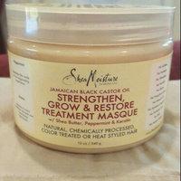 SheaMoisture Strengthen, Grow & Restore Treatment Masque, Jamaican Black Castor Oil, 12 oz uploaded by Te'Mia H.