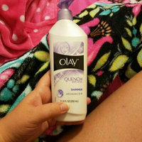 Olay Quench Daily Lotion plus Shimmer with Cocoa Butter 11.8 fl. oz. Bottle uploaded by Brittney E.