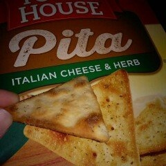 Keebler Town House Oven Baked Crackers Pita Italian Cheese & Herb uploaded by Angie R.
