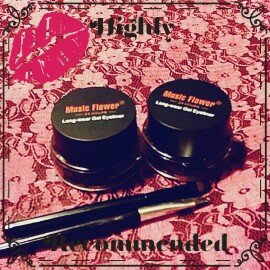 Photo of Music Flower Long-wear Gel Eyeliner 24H uploaded by Nicole H.