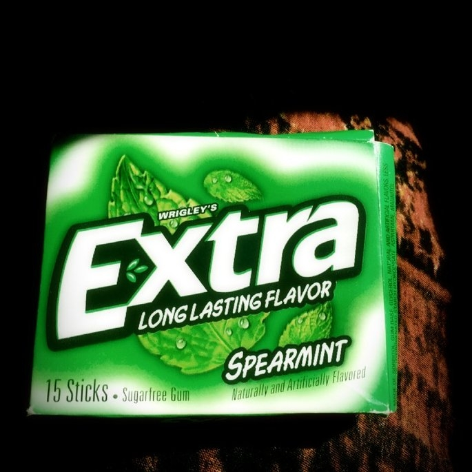 Extra Spearmint Sugar-Free Gum uploaded by Chaunyce D.