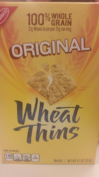 Photo of Nabisco Wheat Thins Original Crackers uploaded by Carrie N.