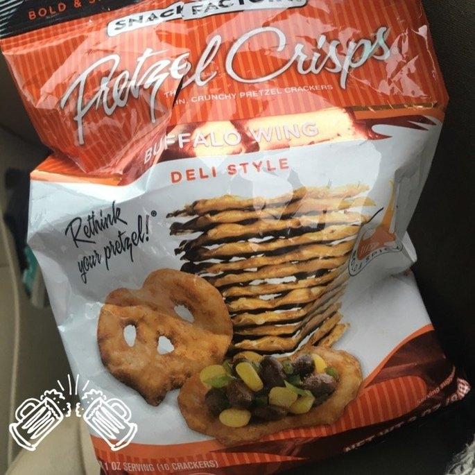 Pretzel Crisps® Buffalo Wing Deli Style Pretzel Crackers uploaded by Taylor S.